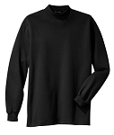 100% cotton  Mock Turtleneck shooting shirt, style K321