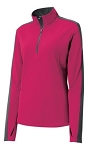 Ladies 1/4 Zip Pullover LST861....(NEW)