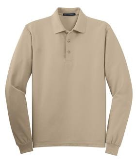 65/35 Cotton/Poly Blend Long Sleeve Style K500LS