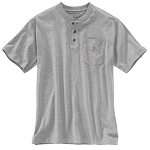 Carhartt Short Sleeve Henley W/Pocket CTK84