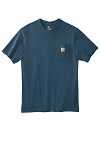 Carhartt Heavy Duty 100% Cotton T W/Pocket CTK87