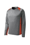 Deep Orange/Heather Grey
